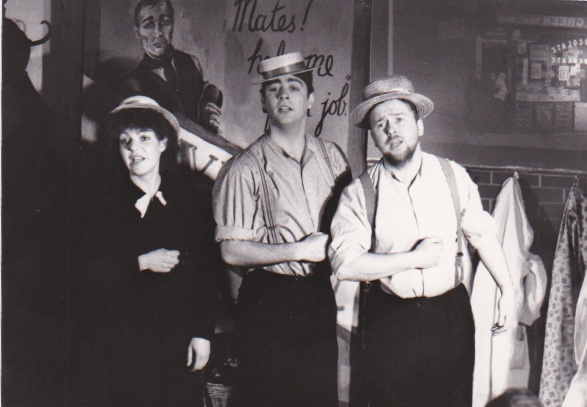 Marilyn Gordon, Philip Judge and Stephen Gribbin in 'My First Job'