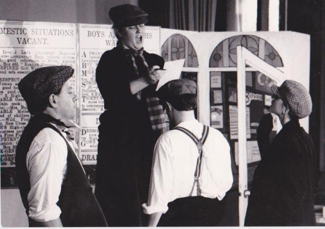 Christopher Downing, Tegolin Knowland, Alex Martin, Charles Wegner.