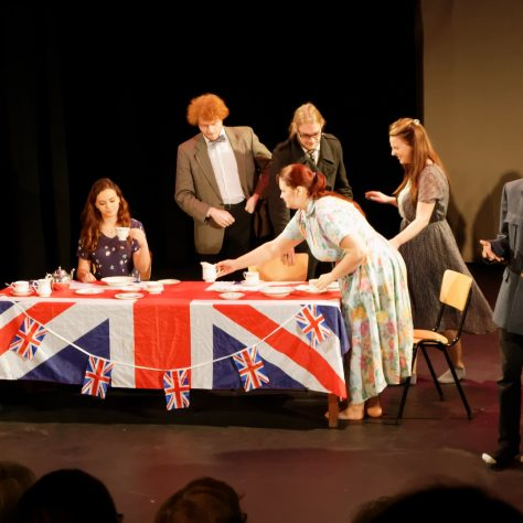 University of Greenwich Drama students perform memories from the Reminiscence Theatre Archive   Matthias Neutzner
