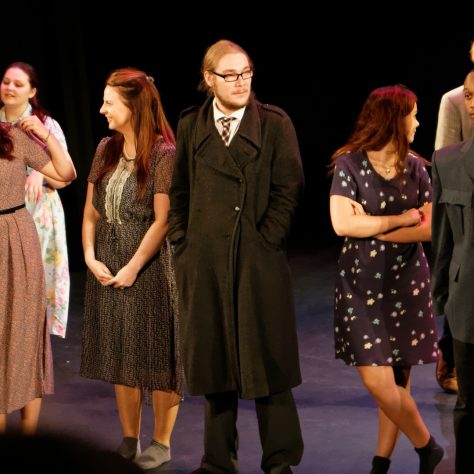 University of Greenwich Drama students perform memories from the Reminiscence Theatre Archive