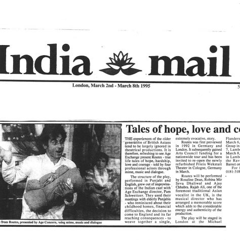 India Mail, March 1995.