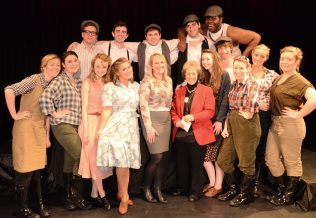 Drama students perform at the Reminiscence Theatre Archive Symposium, May 2012