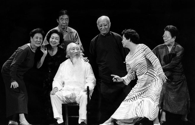 Taiwan elders at the 'Time To Remember' Festival 1985   Rado Klose