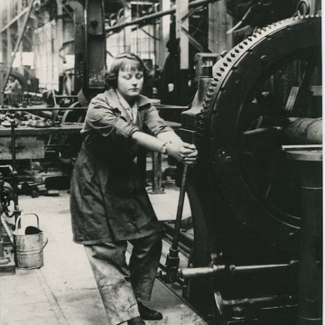 Worker at Woolwich Arsenal, May 1918