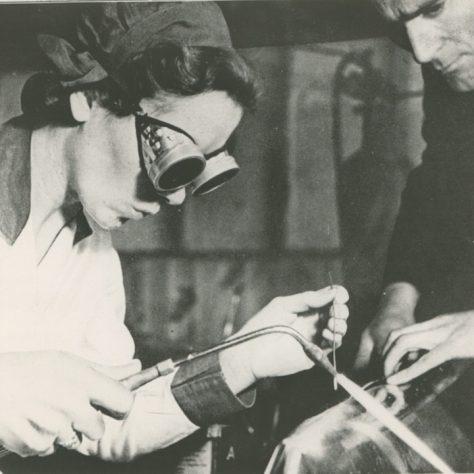 Butt welding sheet aluminium fairings