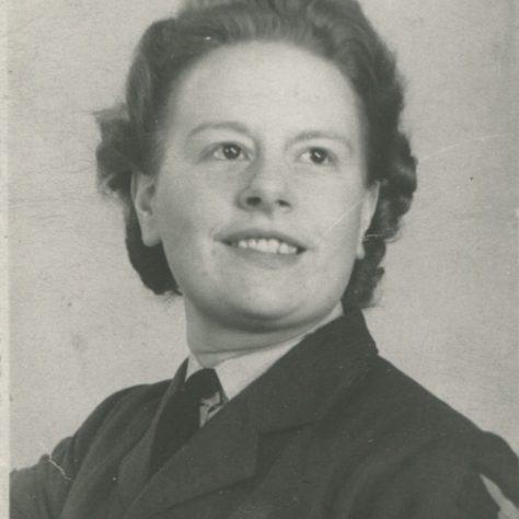 Joan Welch in WAAF uniform