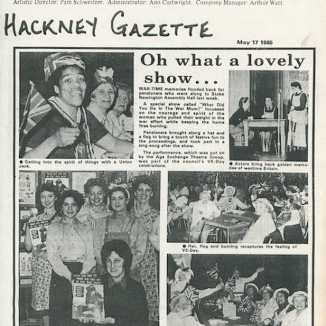 Hackney Gazette, May 1985